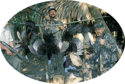 More Hunters with Ocellated Turkeys